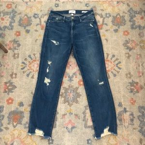 Frame distressed Le High Straight 26